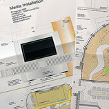 Abbildung - Skizze Media-Rack