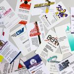 Abbildung - Diverse Visitenkarten